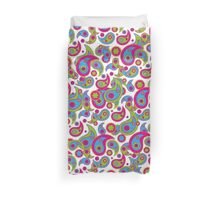 Paisley Cool Party Duvet Cover