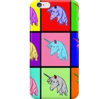 Pop Art Unicorn iPhone Case/Skin