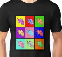 Pop Art Unicorn Unisex T-Shirt