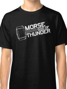 Morse God of Thunder (Dark Version) Classic T-Shirt