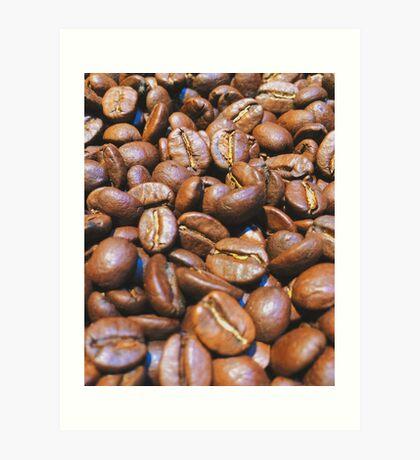 Coffee Beans Art Print