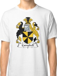 Campbell Coat of Arms / Campbell Family Crest Classic T-Shirt