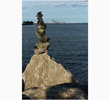 Toronto's CN Tower Sculpted From Natural Stones Unisex T-Shirt