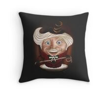 Creaminal Treats - Mr. RV Throw Pillow