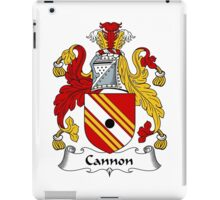 Cannon Coat of Arms / Cannon Family Crest iPad Case/Skin