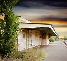 Red Cliffs Station by Angela Stewart