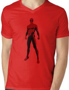 WebMan Mens V-Neck T-Shirt