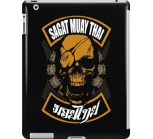 Sagat Muay Thai Fighter  Thailand Martial Art iPad Case/Skin