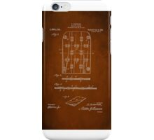 Soldier Armor Patent 1919 iPhone Case/Skin