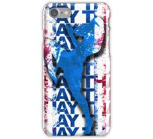 Muay Thai Boxing Flag Fighter Thailand Martial Art iPhone Case/Skin