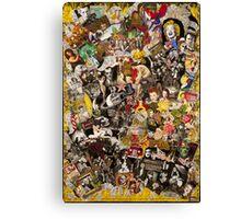 James Dean, Jack Nicholson, Three Stooges Canvas Print