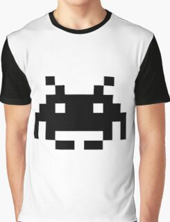 Space Invaders alien Graphic T-Shirt