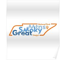 Great Smoky Mountains National Park, Tennesee Poster