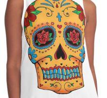Skull Mexican Contrast Tank