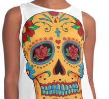 Skull Mexican Contrast Tank