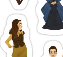 Every Clara Outfit Ever #1 Sticker