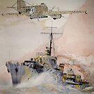 HMS Ashanti by Ray-d
