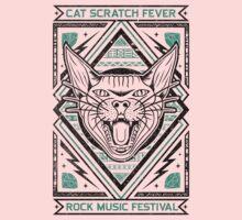 Cat Scratch One Piece - Long Sleeve