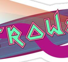 Retrowave Sticker