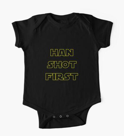 Han Shot First One Piece - Short Sleeve