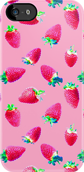 Pink Strawberry Pop by micklyn
