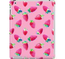 Pink Strawberry Pop iPad Case/Skin