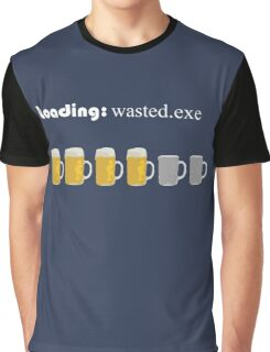 loading: wasted.exe Graphic T-Shirt