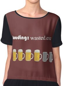 loading: wasted.exe Chiffon Top