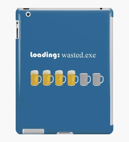 loading: wasted.exe iPad Case/Skin