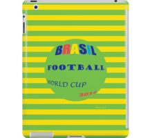 Brasil Football Worl Cup, 2014 iPad Case/Skin