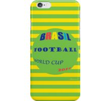 Brasil Football Worl Cup, 2014 iPhone Case/Skin