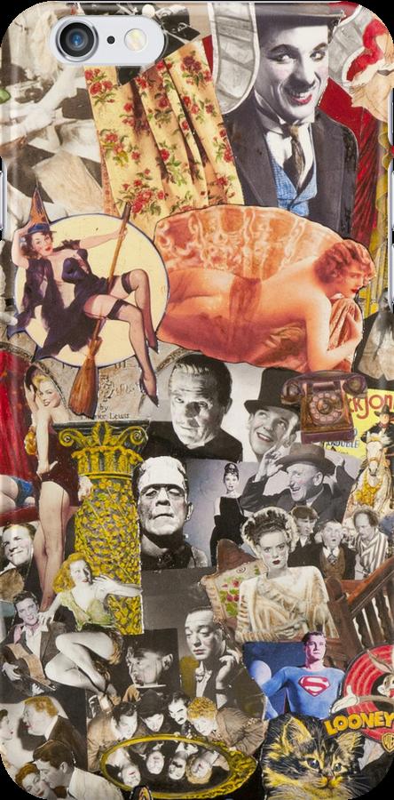 Marilyn Monroe, Charlie Chaplin, Mae West by groucho4ever