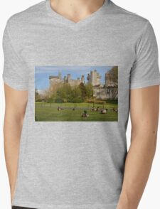 Dromoland Castle Duck walk! Mens V-Neck T-Shirt
