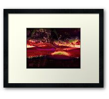 Caught In The Storm Framed Print