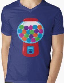 Retro Gumball Machine Mens V-Neck T-Shirt