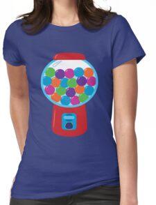 Retro Gumball Machine Womens Fitted T-Shirt