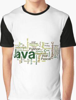 programming languages cloud Graphic T-Shirt