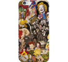Marx Bros. Mae West, WC Fields iPhone Case/Skin