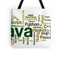programming languages cloud Tote Bag