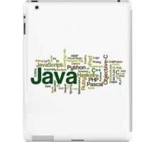 programming languages cloud iPad Case/Skin