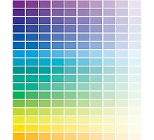 Color Chart Grid by CafePretzel