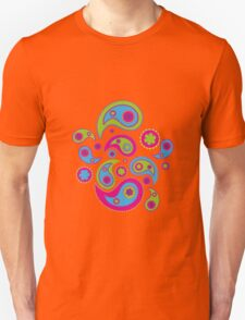 Paisley Cool Party Unisex T-Shirt