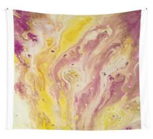 Abstract Acrylic Painting FIZZ Wall Tapestry