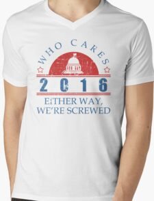 Who Cares 2016 President T-Shirt