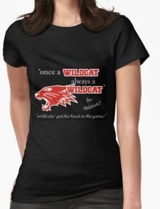 Wildcats Womens Fitted T-Shirt