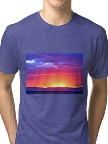 Arizona Sunset Tri-blend T-Shirt