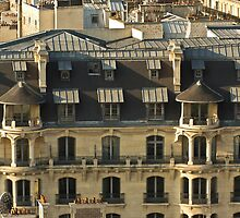 Paris Roof Tops - A Close Up - 1 © by © Hany G. Jadaa © Prince John Photography