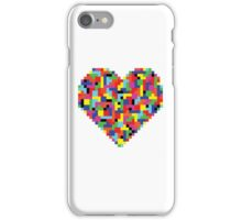 Colorful Tetris Heart iPhone Case/Skin