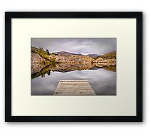 Blue Lake, NZ Framed Print