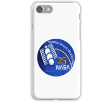 NASA Hubble 25th Anniversary Patch iPhone Case/Skin